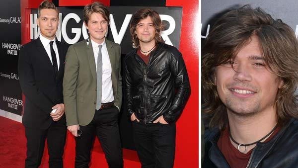 L-R: Isaac, Taylor and Zac Hanson appear at the Los Angeles premiere of The Hangover III on May 20, 2013. - Provided courtesy of Daniel Robertson / Tony Dimaio / startraksphoto.com