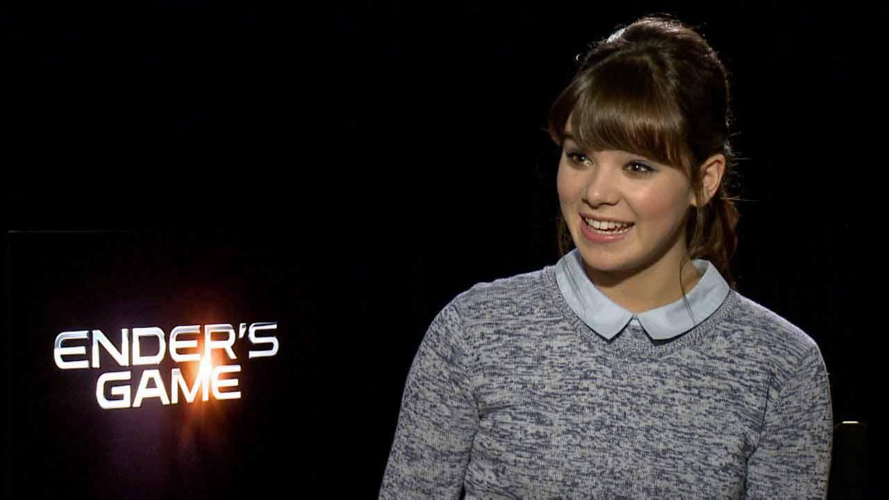 Hailee Steinfeld spoke to OTRC.com about the film Enders Game, in theaters Nov. 1, 2013.