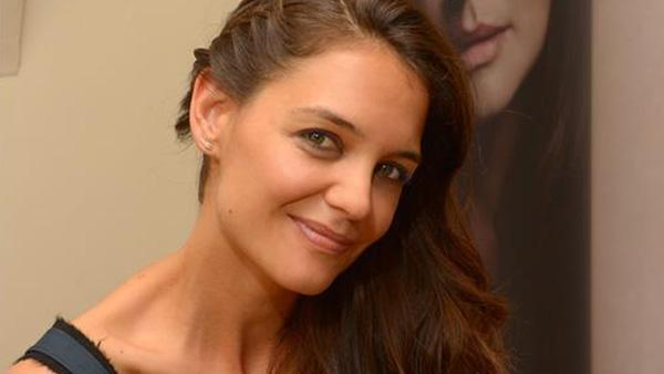 Katie Holmes, a co-owner of Alterna Haircare, attends the launch party for the companys new Bamboo-style dry shampoo scents in New York on Oct. 9, 2013. - Provided courtesy of OTRC / Michael Simon / Startraksphoto.com