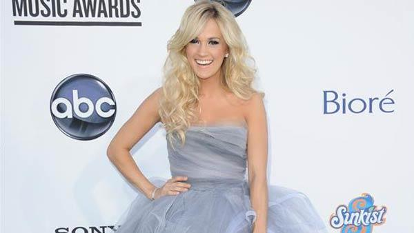 Carrie Underwood appears at the 2012 Billboard Music Awards in Las Vegas, Nevada on May 20, 2012. - Provided courtesy of Kyle Rover / startraksphoto.com