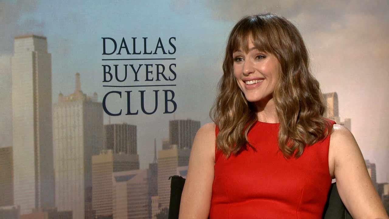Jennifer Garner spoke to OTRC.com about the film Dallas Buyers Club (October 2013).