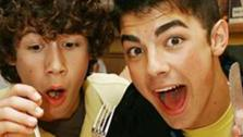 Nick and Joe Jonas appear during a photo shoot in New York City on June 26, 2006. - Provided courtesy of Alex Oliviera / Startraksphoto.com