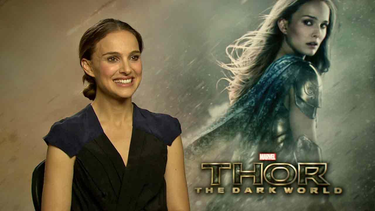 Natalie Portman appears in an interview with OTRC.com for Thor: The Dark World, in theaters on Nov. 8, 2013.