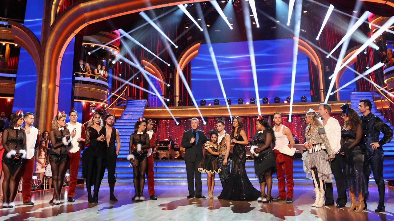 The cast of season 17 of Dancing With The Stars appears on Oct. 28, 2013.