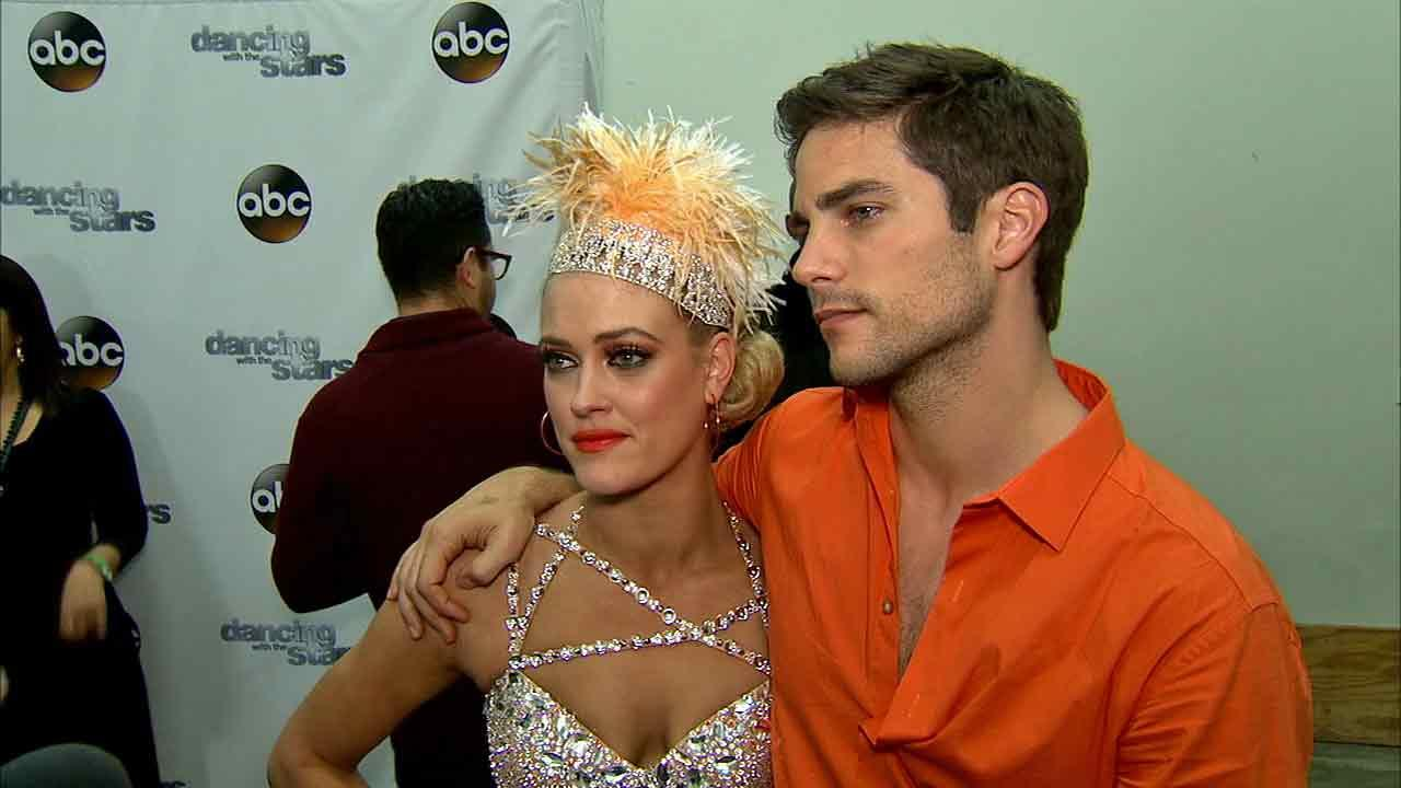 Brant Daugherty and Peta Murgatroyd talked to OTRC.com after week 8 on Dancing With The Stars on Nov. 4, 2013.