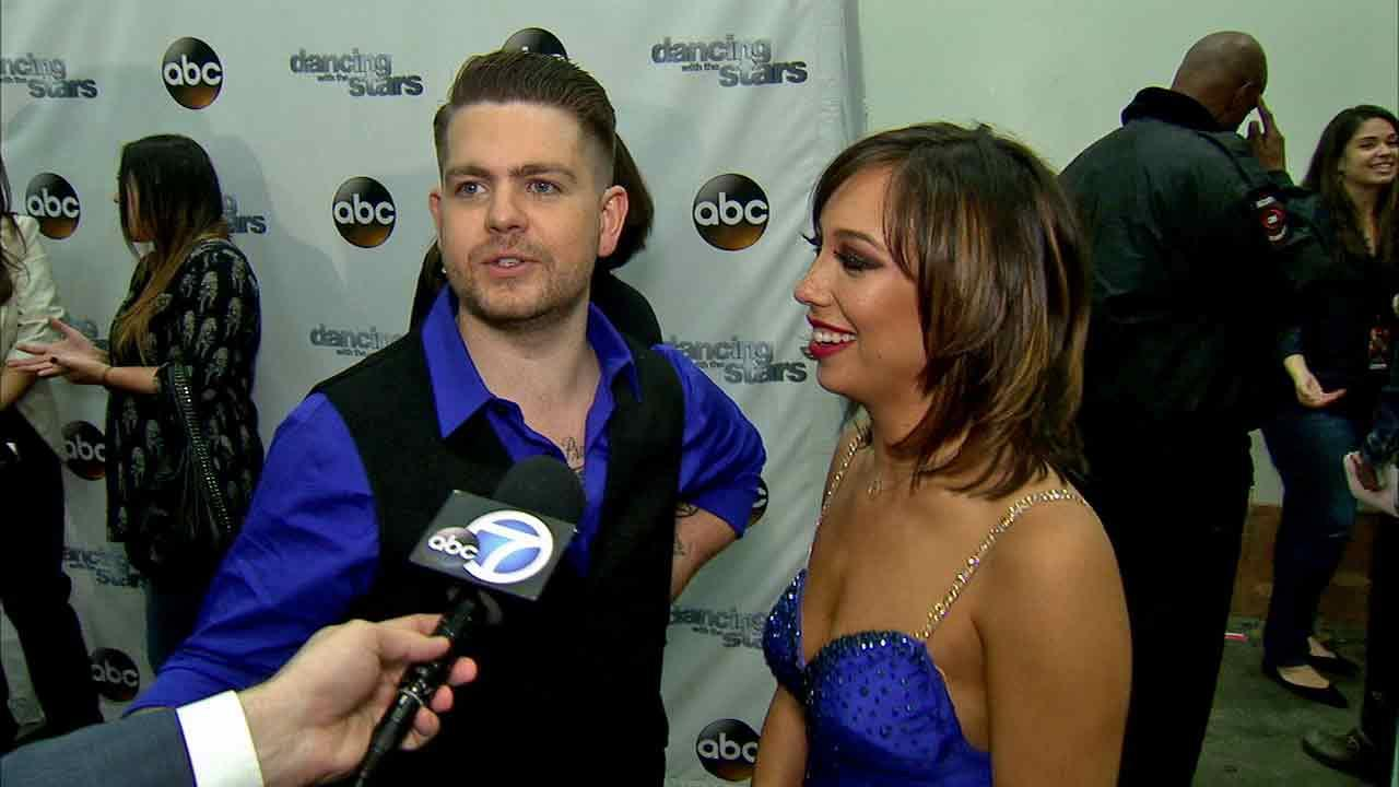 Jack Osbourne and Cheryl Burke talked to OTRC.com after week 8 on Dancing With The Stars on Nov. 4, 2013.
