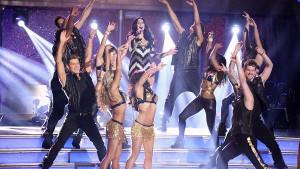 Cher appears on week eight of Dancing With The Stars on Nov. 4, 2013. - Provided courtesy of ABC Photo / Adam Taylor