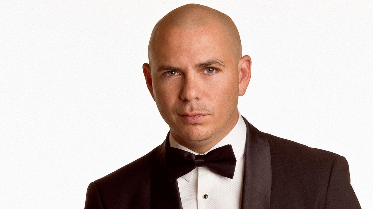 Pitbull, whose real name is Armando Christian Perez,