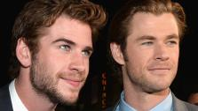 Chris and Liam Hemsworth appear at the Thor: The Dark World premiere in Los Angeles, California on Nov. 4, 2013. - Provided courtesy of Alberto E. Rodriguez / Disney