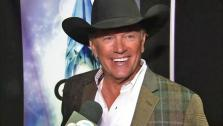 George Strait appears in an interview with OTRC.com at the CMA Awards 2013 on Nov. 6, 2013. - Provided courtesy of OTRC
