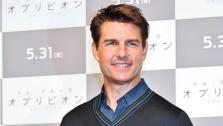 Tom Cruise appears at the premiere of Oblivion in Japan on May 7, 2013. - Provided courtesy of Aflo/startraksphoto.com