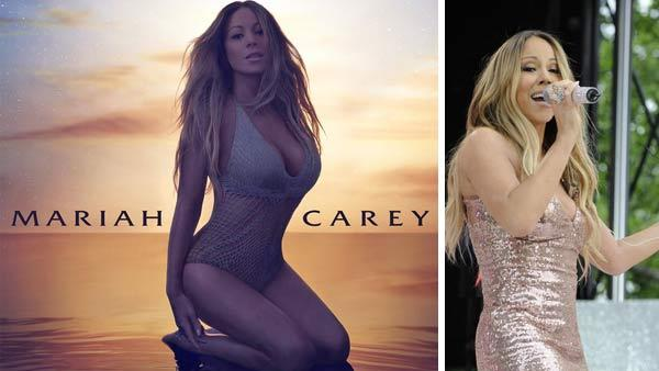 Mariah Carey appears on the official cover art for the song The Art of Letting Go. Mariah Carey appears on Good Morning America on May 24, 2013. - Provided courtesy of Island Records / ABC / Donna Svennevik
