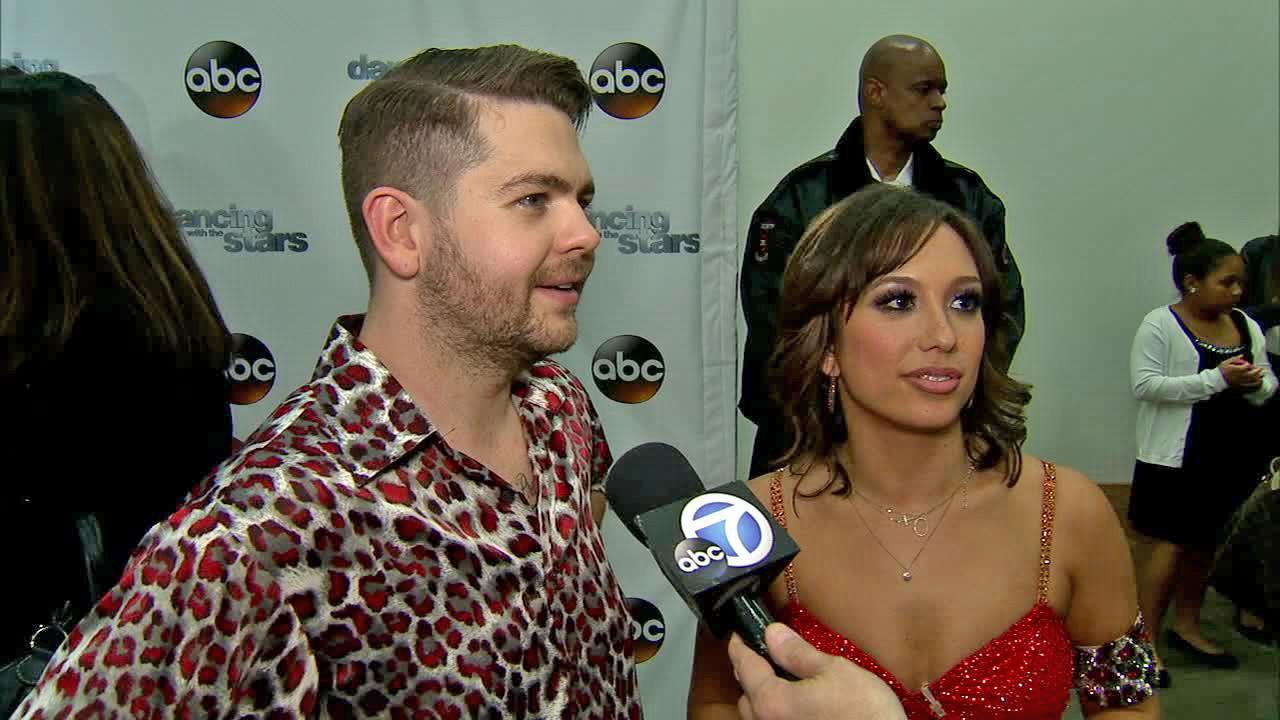 Jack Osbourne and Cheryl Burke talked to OTRC.com after week 9 on Dancing With The Stars on Nov. 11, 2013.
