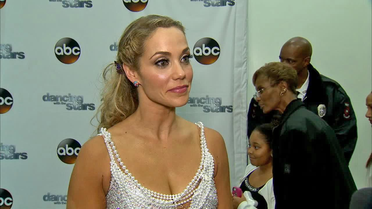 Elizabeth Berkley talked to OTRC.com after week 9 on Dancing With The Stars on Nov. 11, 2013.