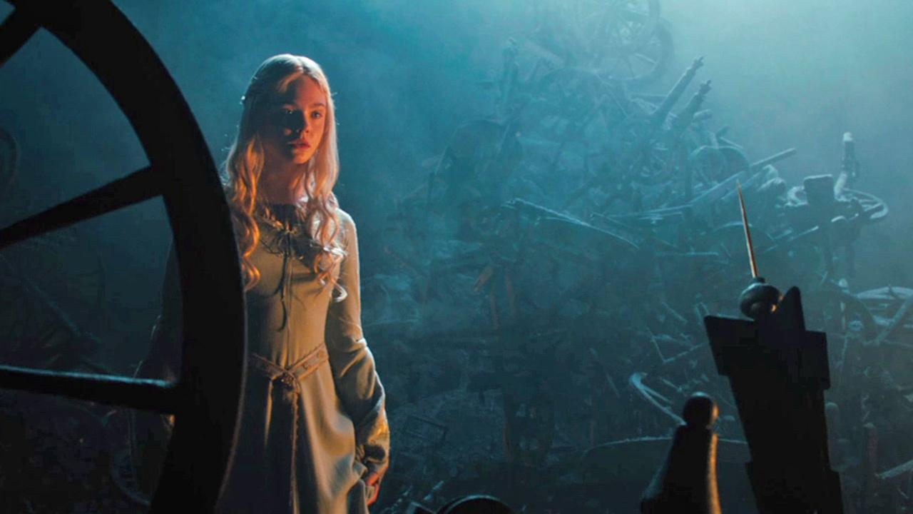 Elle Fanning appears as Aurora in a scene from the 2014 Disney film Maleficent.Walt Disney Studios