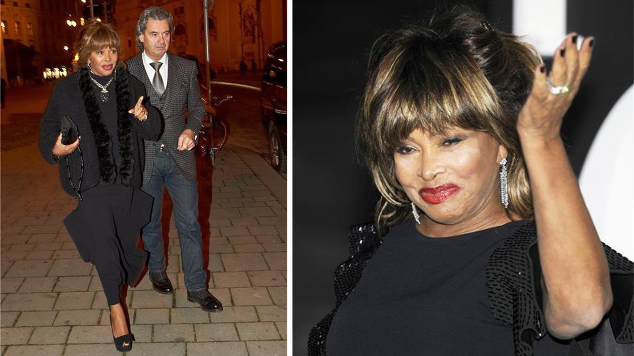 Tina Turner and then-boyfriend Erwin Bach appear at the Palais Harrach Reception in Vienna, Austria on Nov. 15, 2012. The two married in July 2013. / Tina Turner appears at the 2012 Christmas Concert in Italy on June 5, 2013.CONTRAST / Alessandro Serrano / Startraksphoto.com