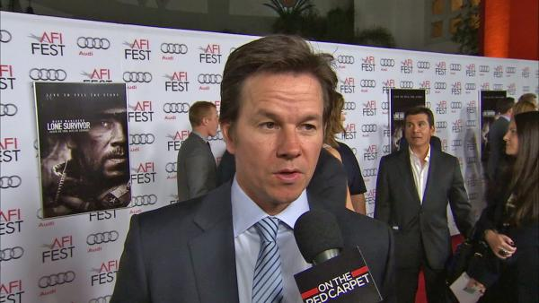 Mark Wahlberg talks to OTRC.com about his new reality show, Wahlburgers, at the premiere of the movie Lone Survivor at 2013 AFI Fest in Los Angeles on Nov. 12, 2013. - Provided courtesy of OTRC
