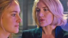 Shailene Woodley and Kate Winslet appear in a scene from the 2014 movie Divergent. - Provided courtesy of OTRC / Red Wagon Entertainment / Summit Entertainment