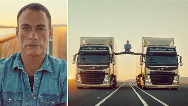 Jean-Claude Van Damme appears in a Volvo Trucks commercial posted on YouTube on Nov. 13, 2013.