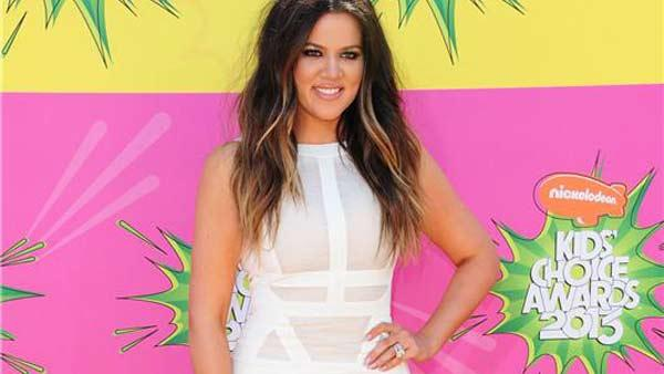 Khloe Kardashian appears at the 2013 Kids Choice Awards in Los Angeles, California on March 23, 2013. - Provided courtesy of Kyle Rover / startraksphoto.com