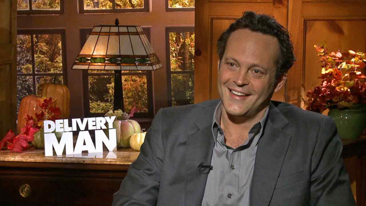 Vince Vaughn talks to OTRC.com about his new film Delivery Man (November 2013).