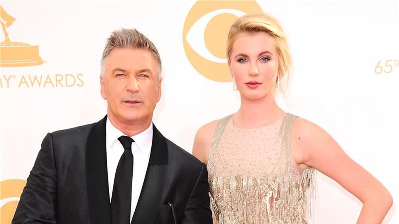 Alec Baldwin and daughter Ireland attend the 2013 Emmy Awards at the Nokia Theatre L.A. Live in Los Angeles on Sept. 22, 2013.