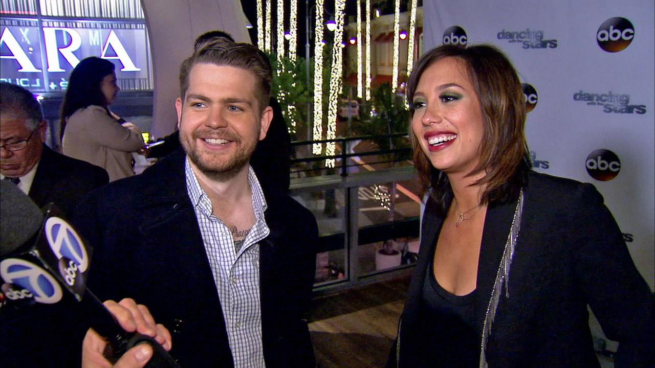 Jack Osbourne and Cheryl Burke talked to OTRC.com after week 10 on Dancing With The Stars on Nov. 18, 2013.