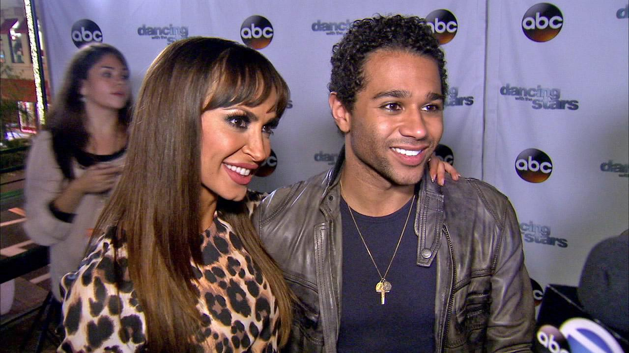 Corbin Bleu and Karina Smirnoff talked to OTRC.com after week 10 on Dancing With The Stars on Nov. 18, 2013.