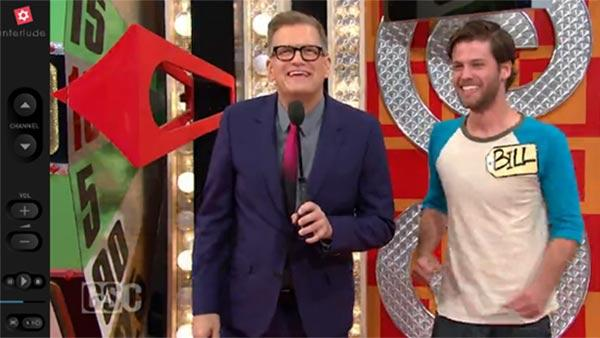 Drew Carey is seen in a 2013 interactive music video for Bob Dylan's 1965 song 'Like A Rolling Stone.'