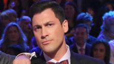 Maksim Chmerkovskiy appears as a guest judge on week 10 of Dancing With The Stars on Nov. 18, 2013. - Provided courtesy of ABC