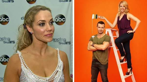 Elizabeth Berkley talked to OTRC.com after week 9 on Dancing With The Stars on Nov. 11, 2013. Melissa Joan Hart and Joey Lawrence appear in a promotional photo for the show Melissa and Joey. - Provided courtesy of OTRC / ABC Family