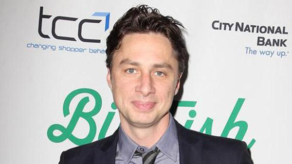 Zach Braff attends the opening night of the Broadway show Big Fish at the Neil Simon Theatre in New York on Oct. 6, 2013. - Provided courtesy of Amanda Schwab / Startraksphoto.com