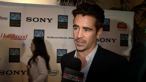 Napa Valley Film Festival taps Colin Farrell, Dianna Agron, Ralph Macchio and stars at annual gala.