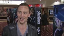 Tom Hiddleston (Loki) talks to OTRC.com about the first Avengers film and director Joss Whedon in April 2012. - Provided courtesy of OTRC