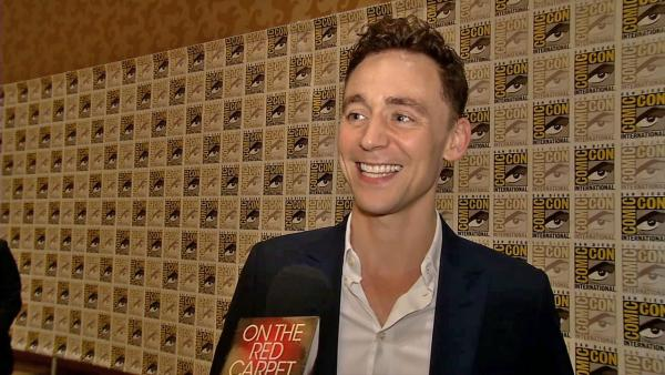 Tom Hiddleston talked to OTRC.com at San Diego Comic-Con in July 2013.