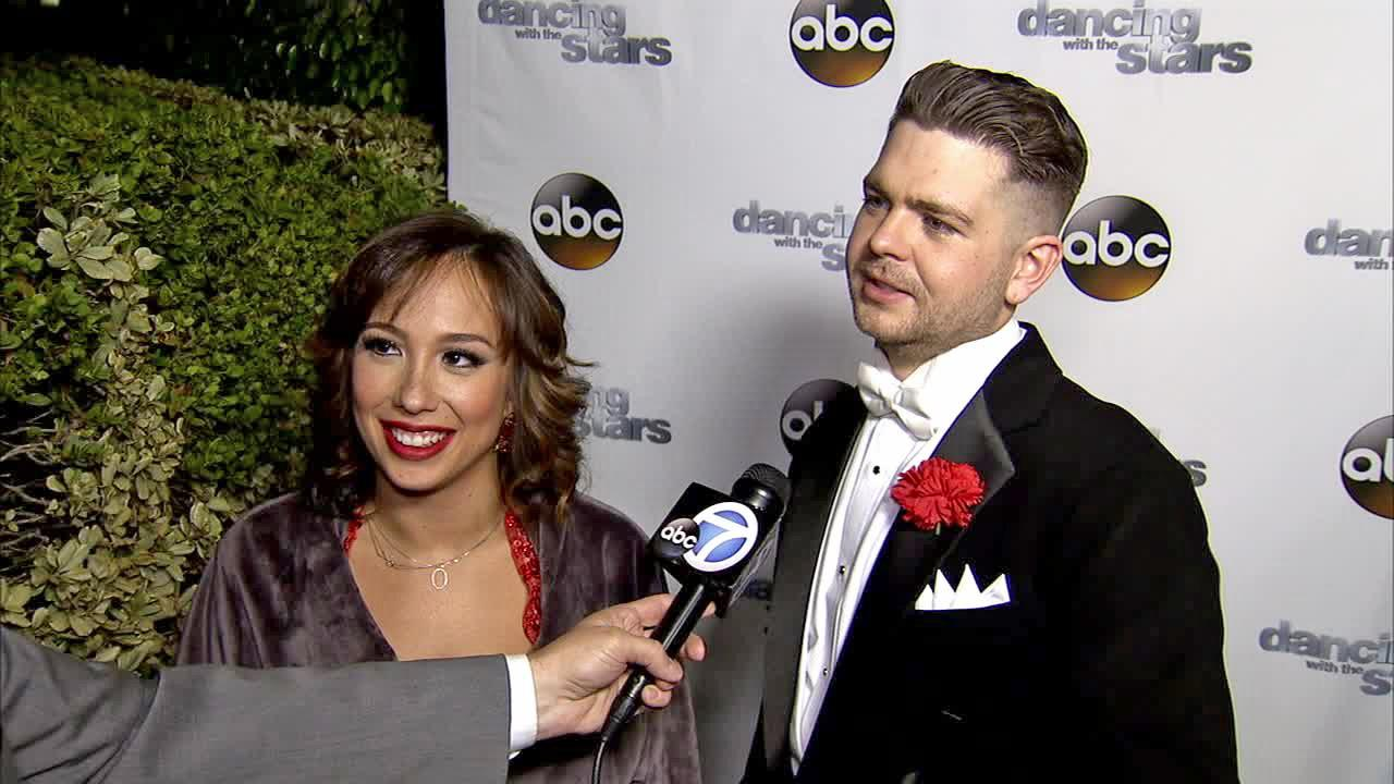 Jack Osbourne and Cheryl Burke talk to OTRC.com after week 11 -- the first of the two-part finale -- of Dancing With The Stars season 17 on Nov. 25, 2013.