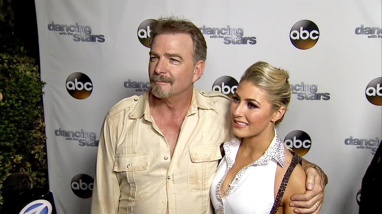 Bill Engvall and Emma Slater talk to OTRC.com after week 11 -- the first of the two-part finale -- of Dancing With The Stars season 17 on Nov. 25, 2013.