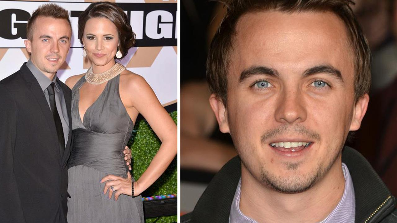 Frankie Muniz of Malcolm in the Middle fame and fiancee Elycia Marie Turnbow appear at Celebrity Fight Night XIX in Phoenix, Arizona on March 23, 2013. /  Frankie Muniz appears at the premiere of John Carter in Los Angeles on Feb. 22, 2012.