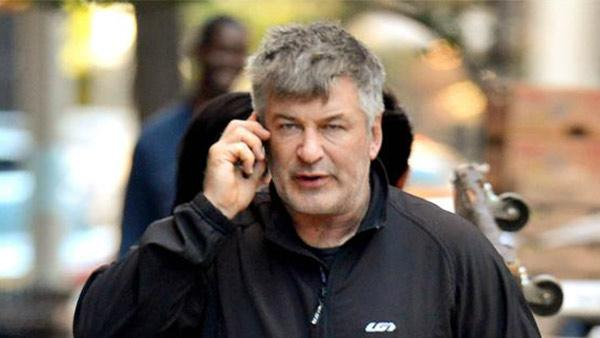 Alec Baldwin appears on a street in New York City on Oct. 21, 2013. - Provided courtesy of Javier Mateo / Startraksphoto.com
