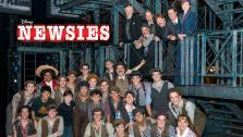 The cast of Disneys Newsies musical appears in a 2013 photo. - Provided courtesy of OTRC