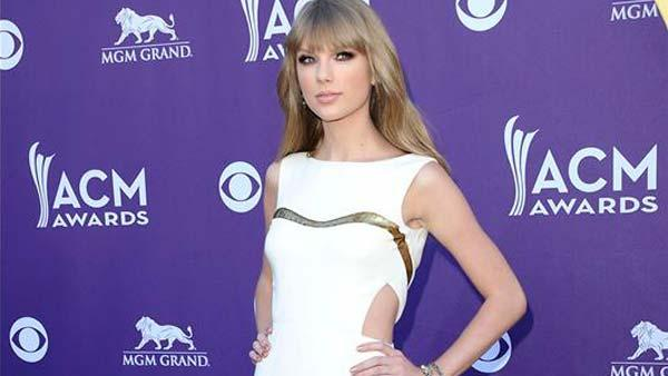 Taylor Swift appears at the 47th annual Academy of Country Music Awards in Las Vegas, Nevada on April 1, 2012. - Provided courtesy of Kyle Rover / startraksphoto.com