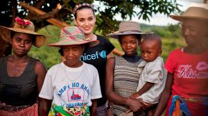 Katy Perry appears during a UNICEF trip to Madagascar in April 2013. - Provided courtesy of UNICEF/NYHQ2013-0172/KATE HOLT