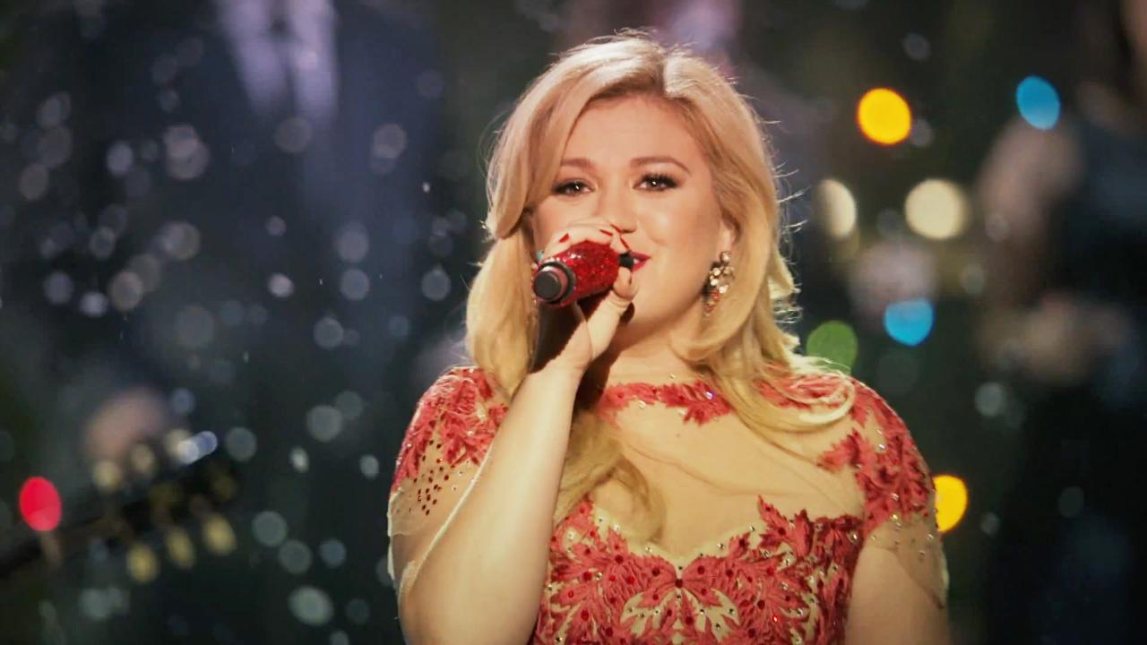 Kelly Clarkson appears in her 2013 music video for the song Underneath The Tree.