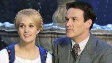 Carrie Underwood as Maria, Stephen Moyer as Captain Von Trapp appear in a photo from The Sound of Music Live! rehearsal. The show airs on Dec. 5, 2013. - Provided courtesy of Paul Drinkwater/NBC