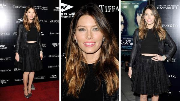 Jessica Biel appears at the Los Angeles premiere of The Truth About Emanuel on Dec. 4, 2013. - Provided courtesy of Daniel Robertson / startraksphoto.com