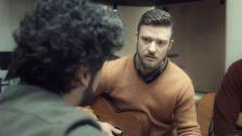 Justin Timberlake appears in a clip from the film Inside Llewyn Davis, in theaters on Dec. 6, 2013. - Provided courtesy of none / CBS Films