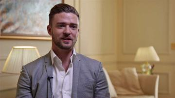 Justin Timberlake talks about his new film Inside Llewyn Davis, in theaters on Dec. 6, 2013.