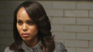Kerry Washington appears in the Scandal season 3 episode A Door Marked Exit, which aired on Dec. 12, 2013. - Provided courtesy of ABC/Danny Feld
