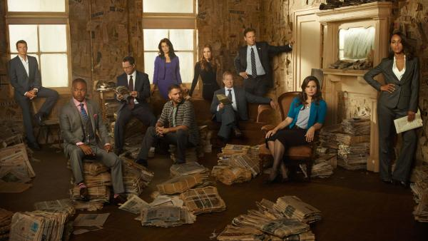 The cast of Scandal appears in a promotional photo for season 3. - Provided courtesy of ABC/Craig Sjodin