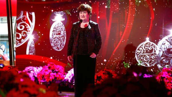 Susan Boyle apepars on the Today Show on Dec. 3, 2013. - Provided courtesy of Peter Kramer / NBC